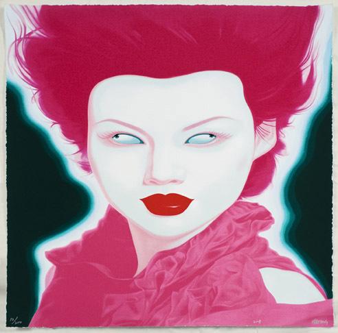 Feng Zhengjie, 'Chinese Portrait No. 38', 2008, Kenneth A. Friedman & Co.