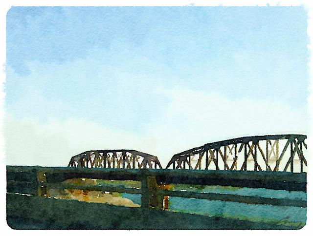 Anne M Bray, 'Bridge, South Texas', 2014, TAG Gallery