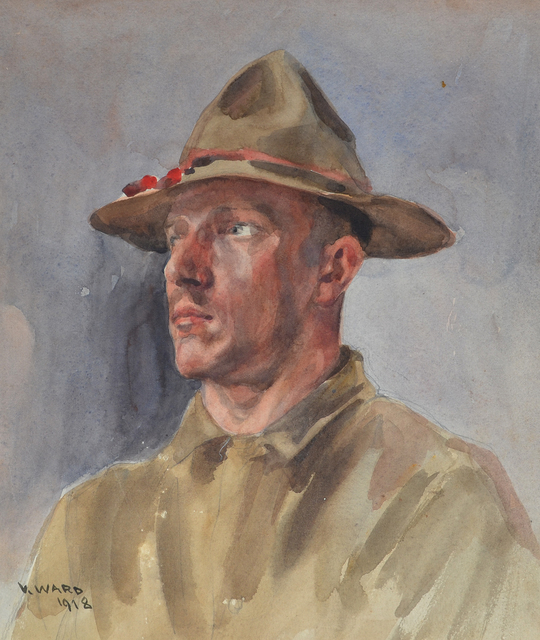, 'American Soldier,' 1918, Darnley Fine Art