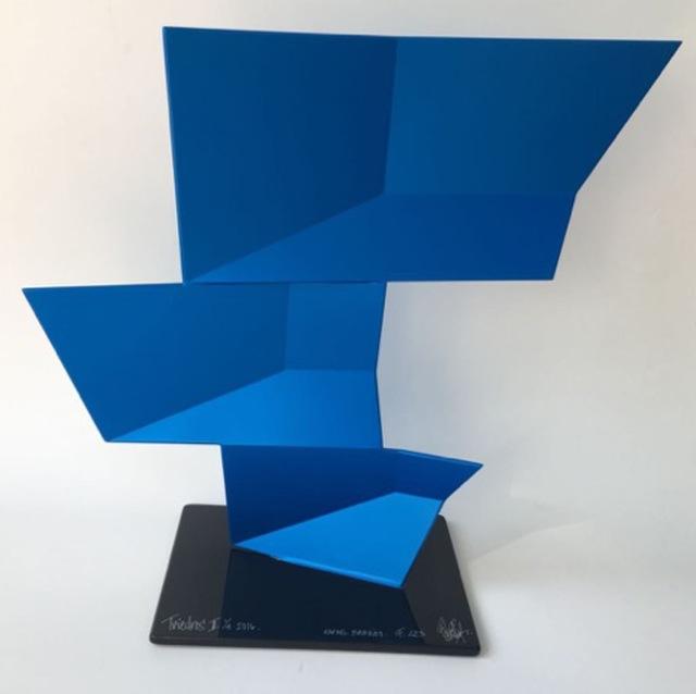 Rafael Barrios, 'Triedos II F223 - Iridescent blue, 2016', Bel-Air Fine Art
