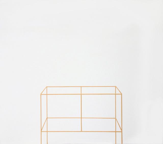 , 'Sem Título (estrutura de madeira) [Untitled (wood structure)],' 2014, Casa Triângulo