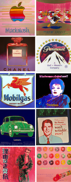 Andy Warhol, 'Ads Full Portfolio (F&S.II.350-359)', 1985, Robin Rile Fine Art