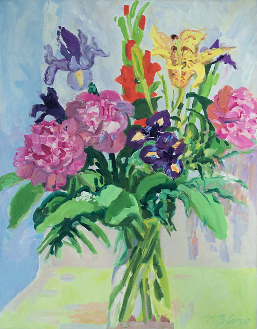 , 'Bouquet with Peonies and Empire Lily,' , Caldwell Gallery Hudson