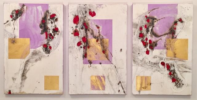 , 'Beacon Hefestus Triptych,' 2015, Novado Gallery