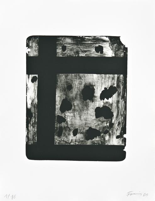 , 'Bastille 6,' 2009, Galerie Lelong & Co.
