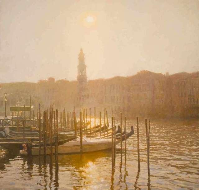 , 'Morning Mist, Venice,' 2018, Catto Gallery