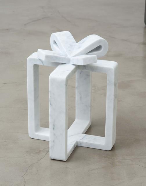 Mircea Cantor, 'Future Gift', 2014, Sculpture, White Carrara marble, Magazzino