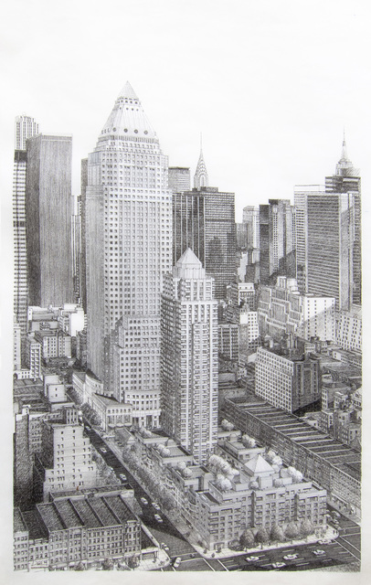 , 'One Worldwide Plaza, Overall View.,' 1986, Edward Cella Art and Architecture