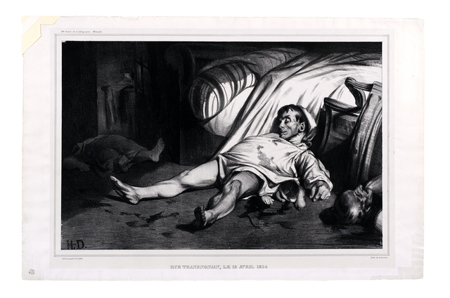 , 'Rue Transnonain, le 15 Avril 1834,' 1834, David Tunick, Inc.