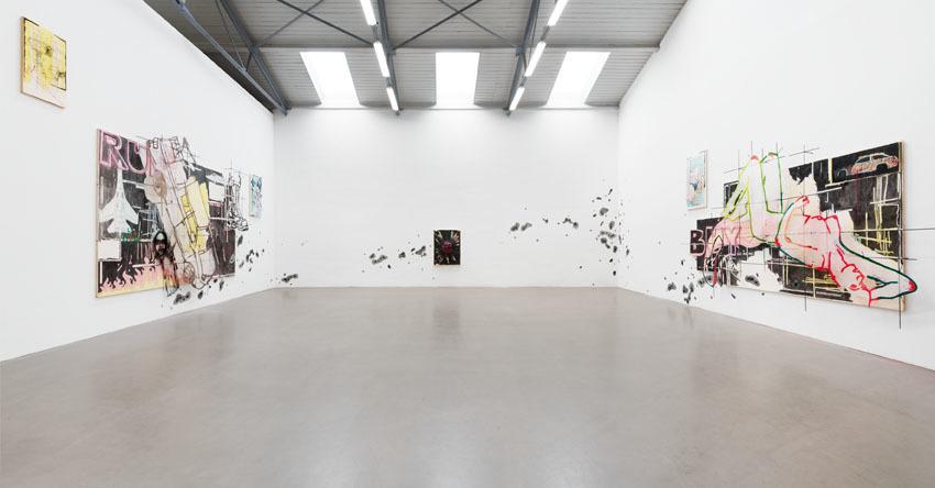 Marshmallow Mood, Installation view, Galerie EIGEN + ART Leipzig, Photo: Uwe Walter