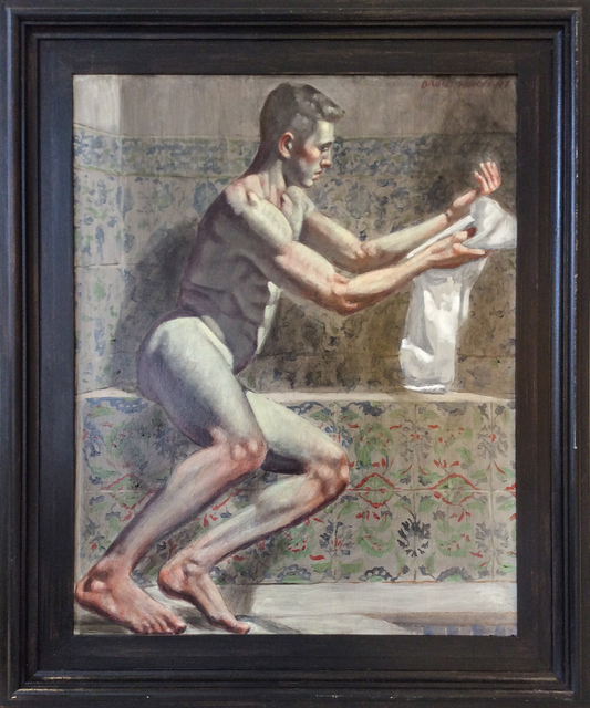 , 'Man Drying Himself with Towel,' , Carrie Haddad Gallery