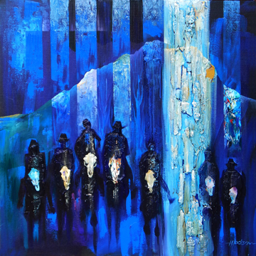 , 'Spirits of Cedar Mountain (Spirits of the Journey Series),' 2015, Zenith Gallery