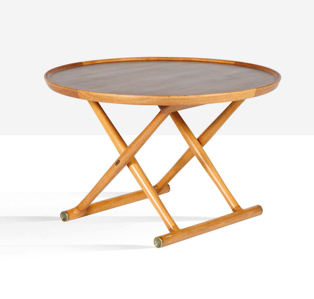 Mogens Lassen, 'Folding table', circa 1940, Aguttes