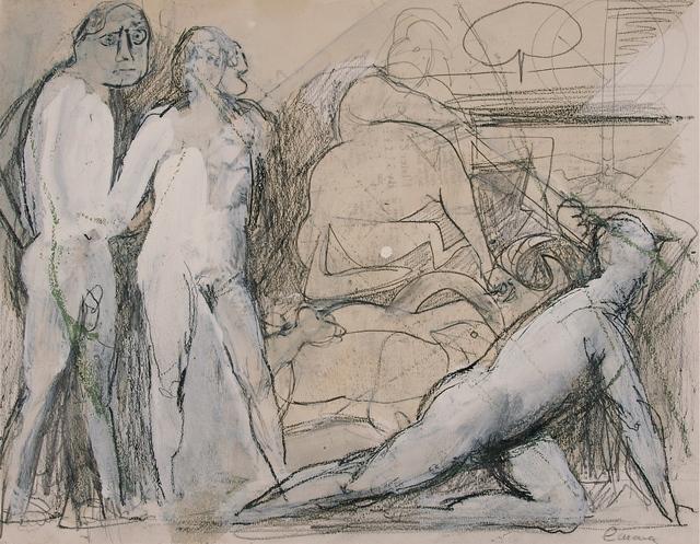 Nicolas Carone, 'Untitled', 1971, John Davis Gallery