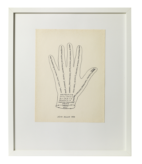 , 'Untitled (Hand),' 1970, The Mayor Gallery