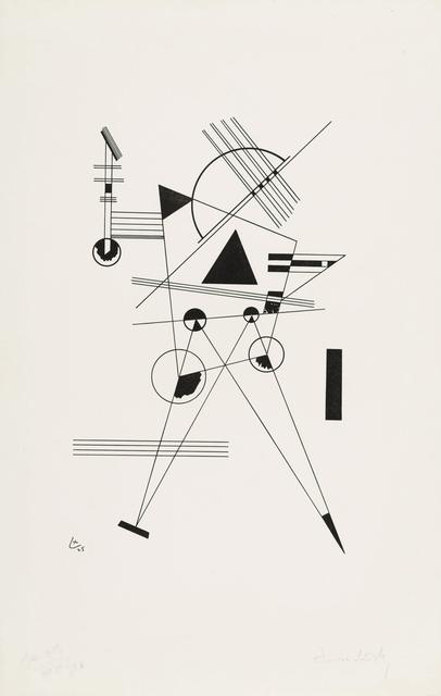 Wassily Kandinsky, 'Lithography No. I', 1925, Christopher-Clark Fine Art