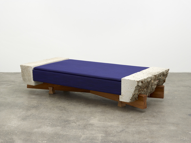 , 'Small Couch (blue),' 2018, Nils Stærk