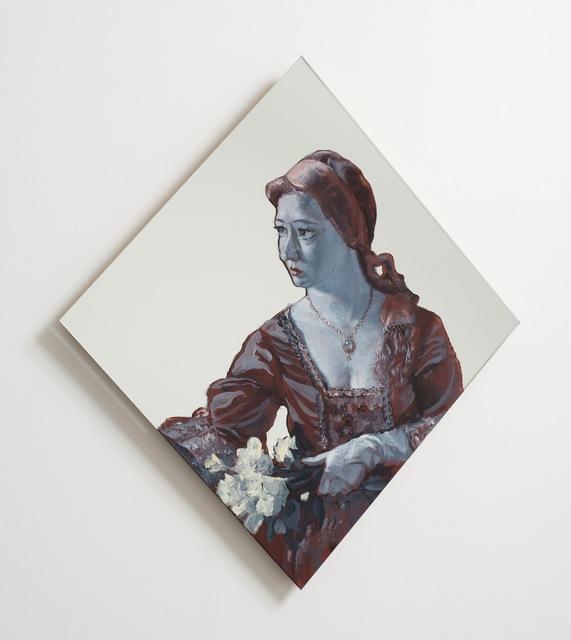 , 'Girl by Fountain,' 2012, Gagosian