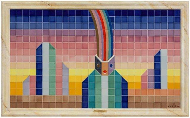 Jean Michel Folon, 'Arc en Ciel', Late 20th Century, Lions Gallery