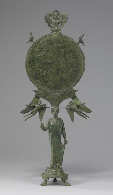 'Caryatid Mirror with Aphrodite', ca. 460 BCE, Walters Art Museum