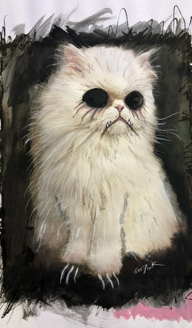 , 'Mr. Cuddles Cat,' 2019, Pigalle Gallery