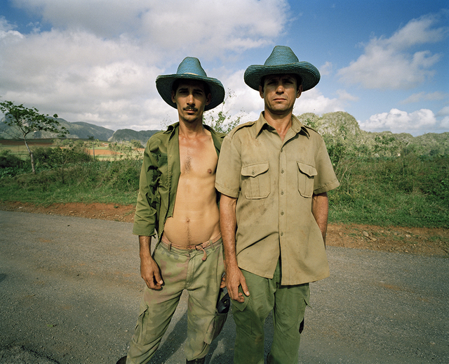 , 'Brothers, Daniel & Francisco, with Blue Hats Pinar del Rio ,' 2005, Wall Space Gallery