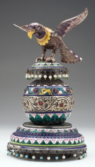 'Falcon on a Pedestal', Late 19th century, Los Angeles County Museum of Art