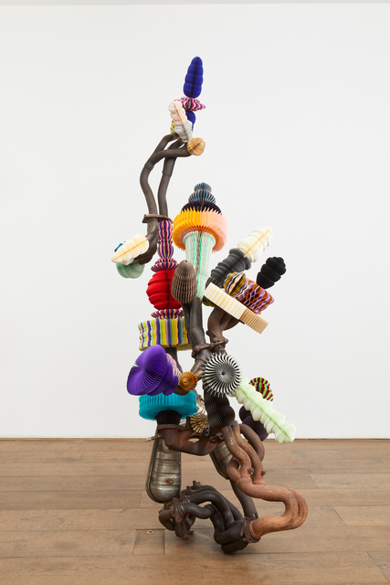 , 'Tree of Division,' 2019, rosenfeld porcini
