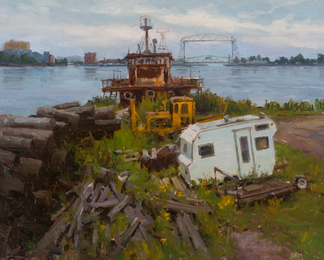 , 'Trailer nd Timbers,' 2017, Susan Calloway Fine Arts