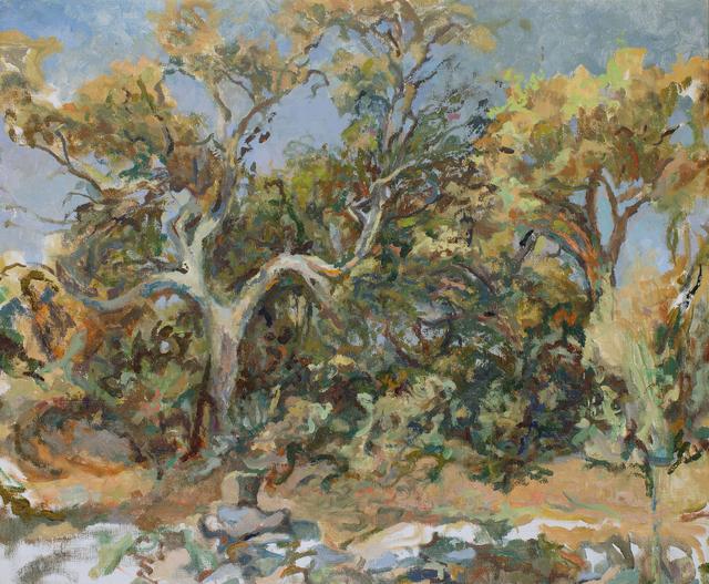 , 'Provencal treescape,' ca. 1968, Robert Eagle Fine Art