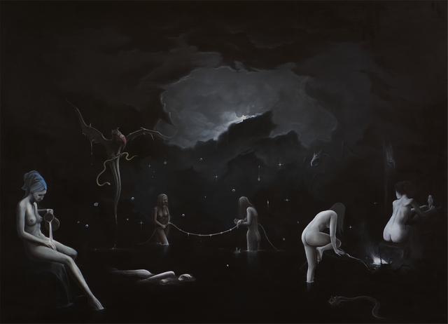 , 'Coven,' 2018, Galerie Heike Strelow