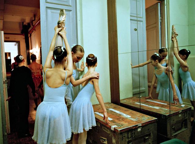 Rachel Papo, 'Three 2nd Class Girls Backstage', 2007, ClampArt