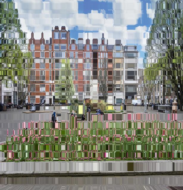 , 'Soho's Golden Square,' 2019, Winston Wächter Fine Art