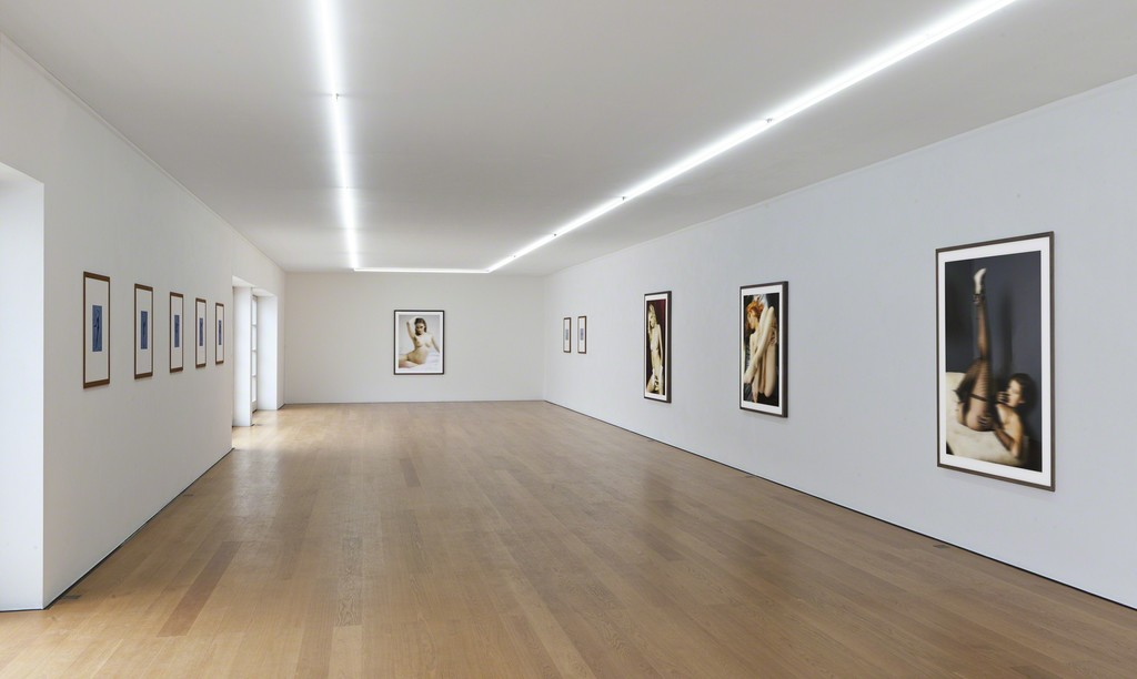 Installation view Thomas Ruff at Galerie Rüdiger Schöttle, 2015. Photo: Wilfried Petzi.