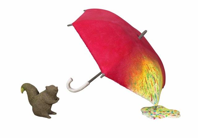, 'Squirrel in Rainbow Rain Village,' 2016, Liang Gallery