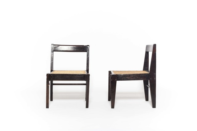 , 'Pair of demountable chairs, model no. PJ-SI-13-A,' ca. 1955, Magen H Gallery