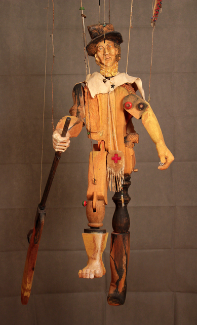 , 'Billy the Kid Marionette,' 2001, form & concept