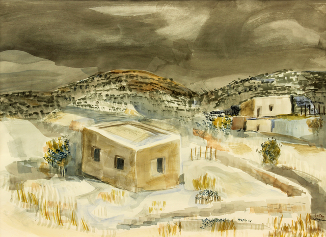 , 'Early Snow,' 1970, Addison Rowe Gallery