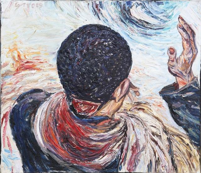 , 'Departure – Kibeho,' 1995, Charles Nodrum Gallery