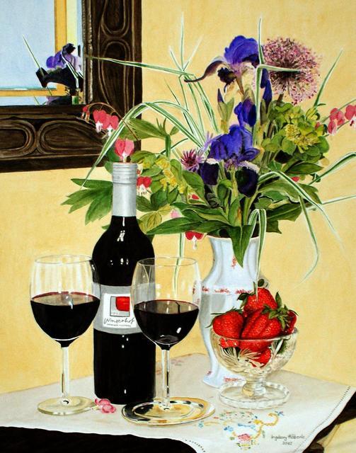 Ingeborg Haeberle, 'winery yard', 2015, the gallery STEINER