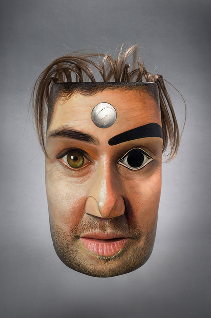 , 'Collaboration Mask,' 2016, Fazakas Gallery