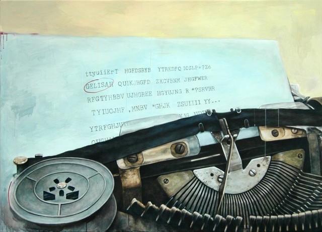 Vani Hidayatur Rahman, ' Catatan Biru (Typewriter Series)', 2008, Ode to Art