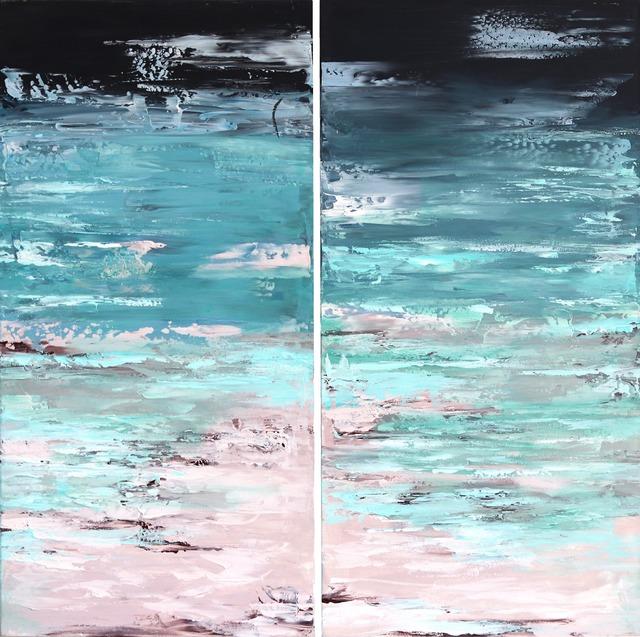 Ivana Milosevic, 'Ocean California Diptych', 2019, Artspace Warehouse