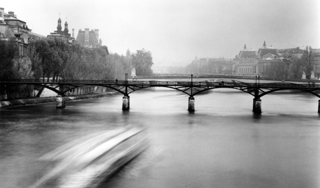 , 'Moving Boat, Paris,' 2008, Photography West Gallery