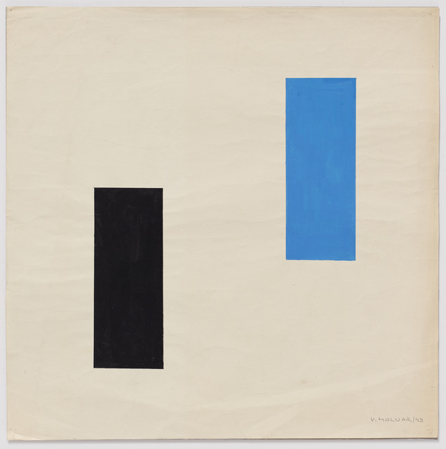 Vera Molnar, '2 Rectangles', 1949, Senior & Shopmaker Gallery