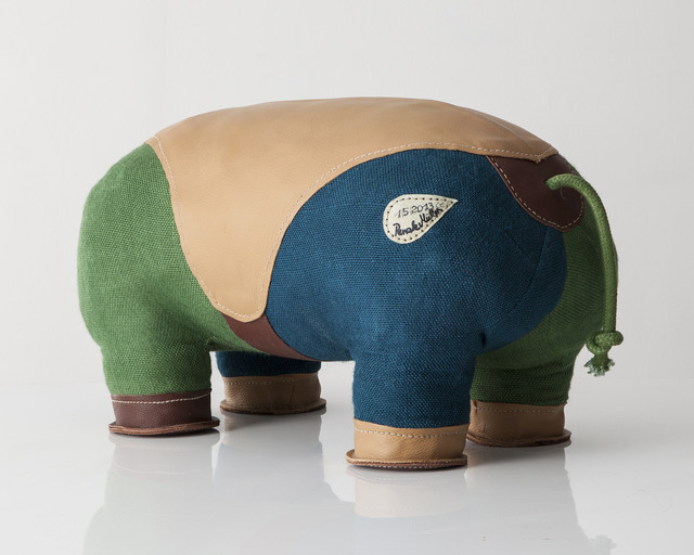 ", 'Double-tail ""Therapeutic Toy"" Hippopotamus,' 2013, R & Company"