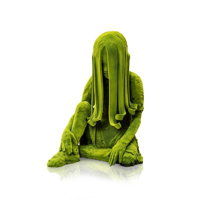 Kim Simonsson, 'Sitting Moss Girl', 2019, Jason Jacques Gallery