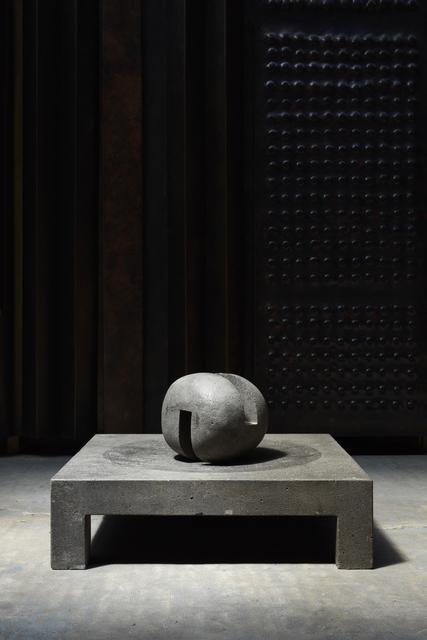 """, '""""Espace établi"""" sculpture,' 1971, Magen H Gallery"""