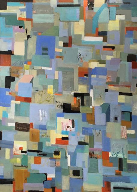 , 'Village Square,' 2019, Vivid Art Gallery