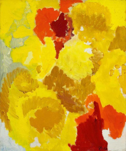 Ernst Wilhelm Nay, 'Mit vielfältigem Gelb', 1958, Koller Auctions